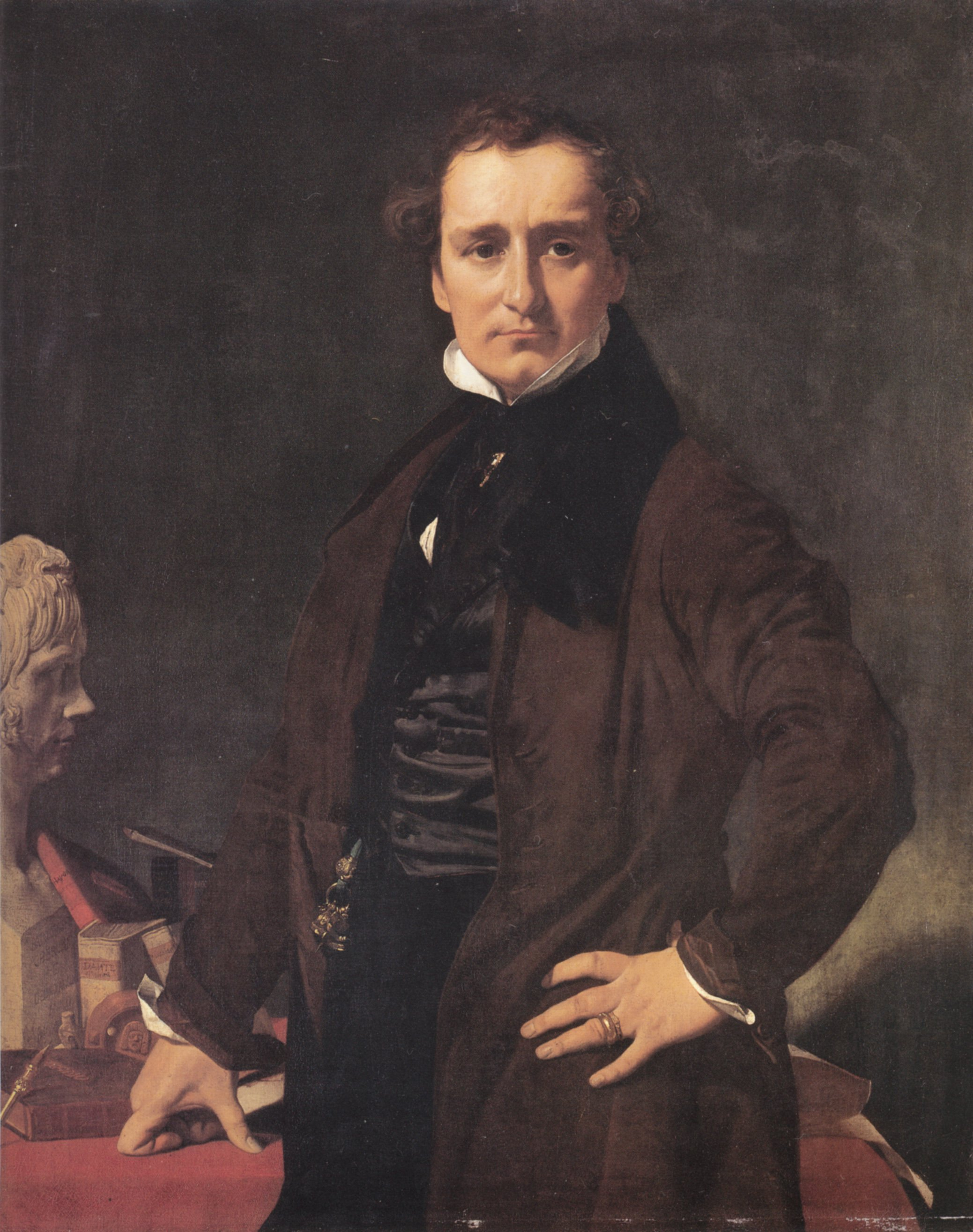 Lorenzo Bartolini | Jean Auguste Dominique Ingres | Oil Painting