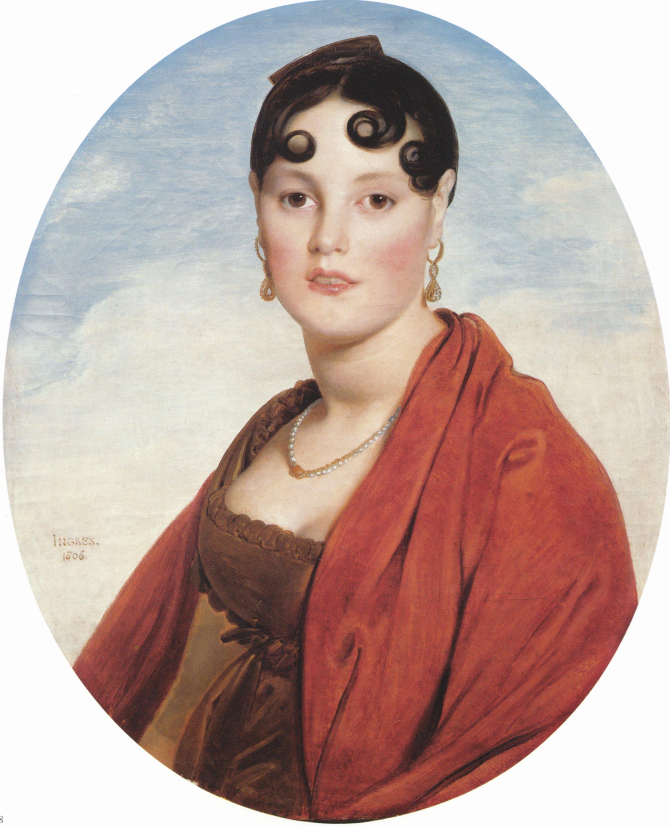 Madame Aymon | Jean Auguste Dominique Ingres | Oil Painting