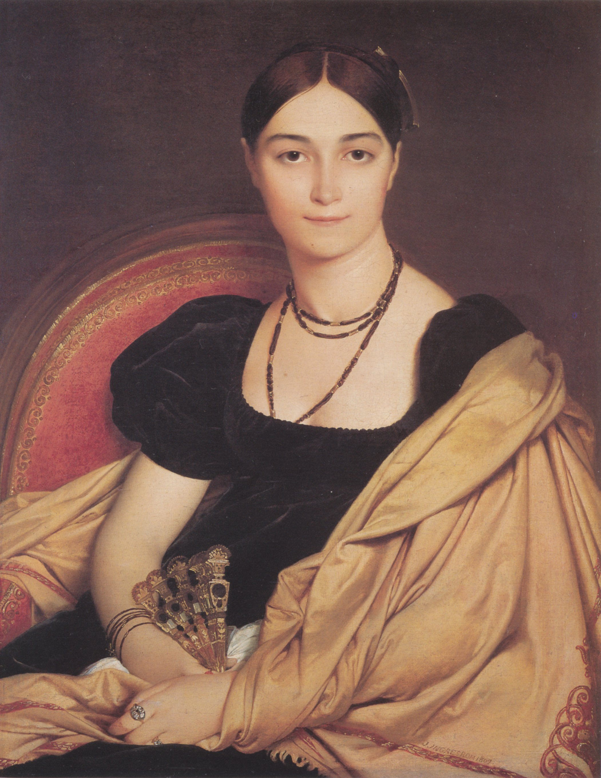 Madame Duvaucey | Jean Auguste Dominique Ingres | Oil Painting