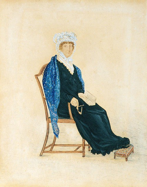 Portrait of Mrs. Crofts 1815 | Unknown artist | Oil Painting