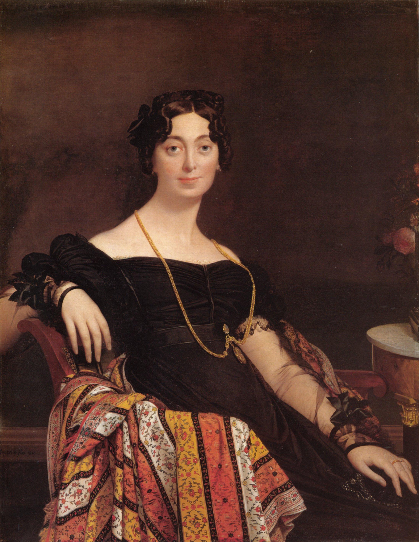 Madame Jacques Louis Leblanc | Jean Auguste Dominique Ingres | Oil Painting