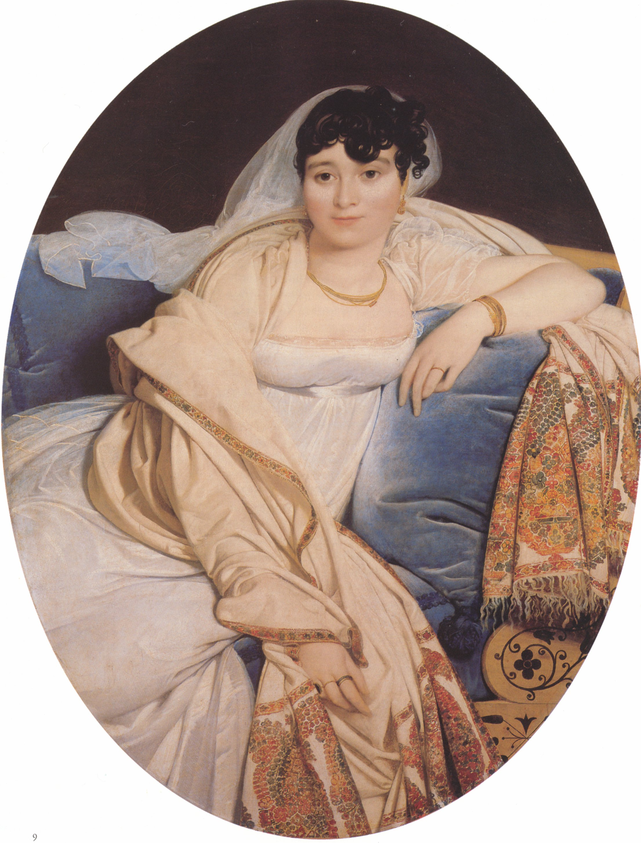 Madame Riviere | Jean Auguste Dominique Ingres | Oil Painting