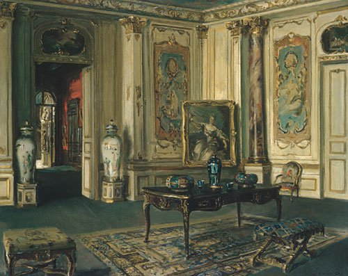 Le Grand Salon Musee Jacquemart Andre 1913 | Walter Gay | Oil Painting