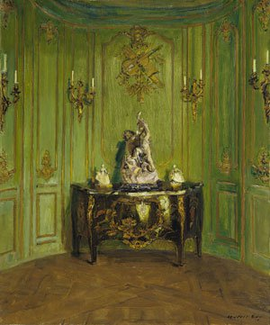 The Green Salon 1912 | Walter Gay | Oil Painting
