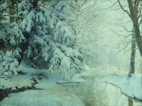 Silent Dawn 1919 | Walter Launt Palmer | Oil Painting
