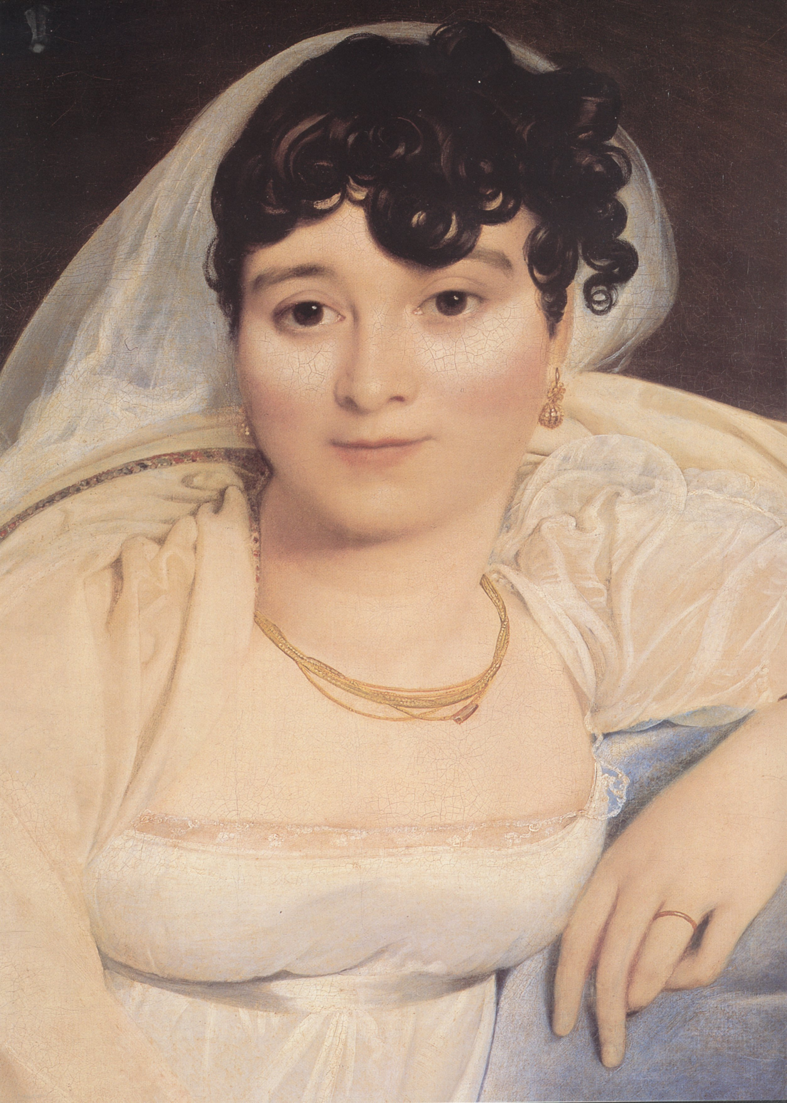 Madame Riviere detail | Jean Auguste Dominique Ingres | Oil Painting