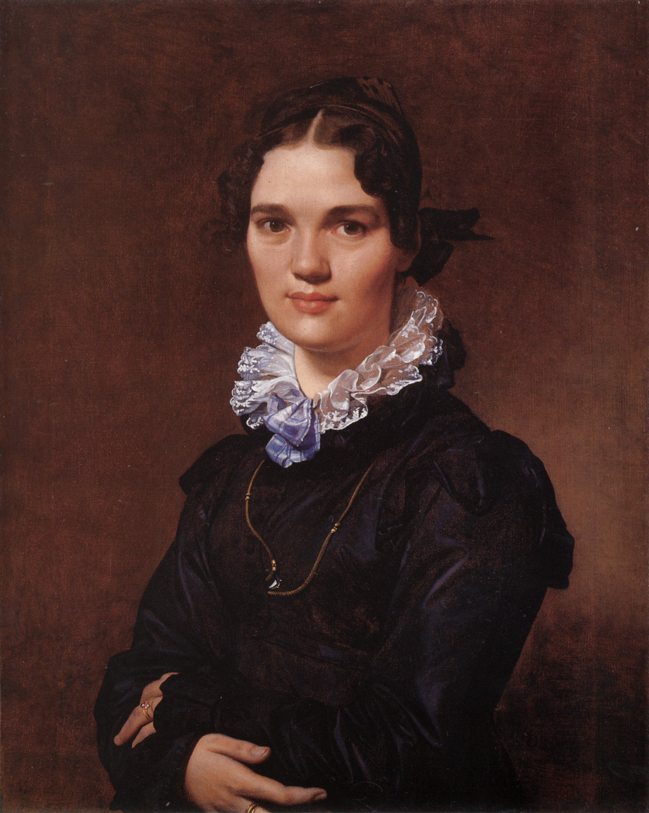 Mademoiselle Jeanne Suzanne Catherine Gonin | Jean Auguste Dominique Ingres | Oil Painting