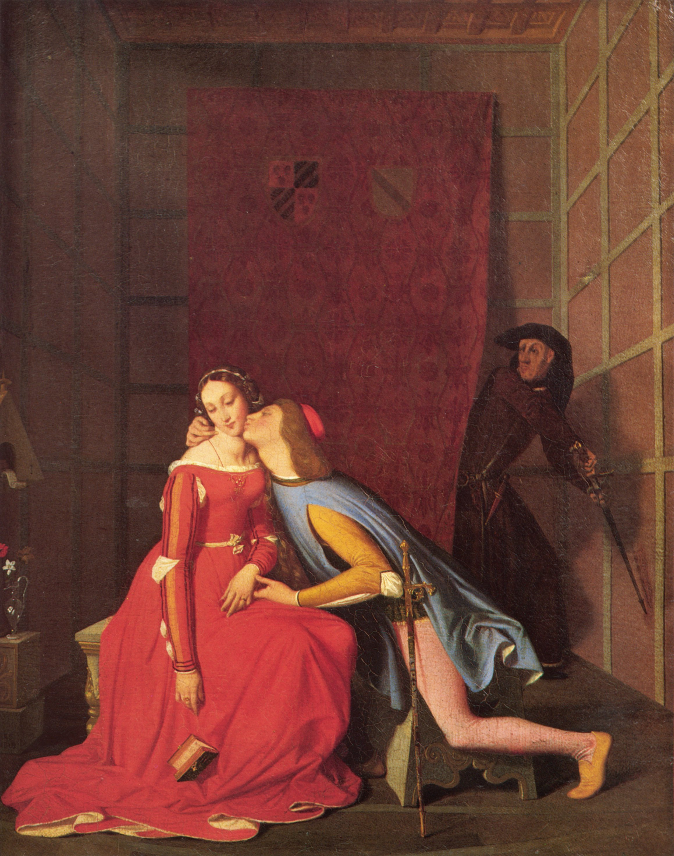 Paolo and Francesca 1819 | Jean Auguste Dominique Ingres | Oil Painting