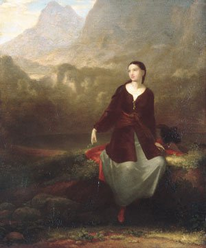 The Spanish Girl in Reverie 1831 | Washington Allston | Oil Painting