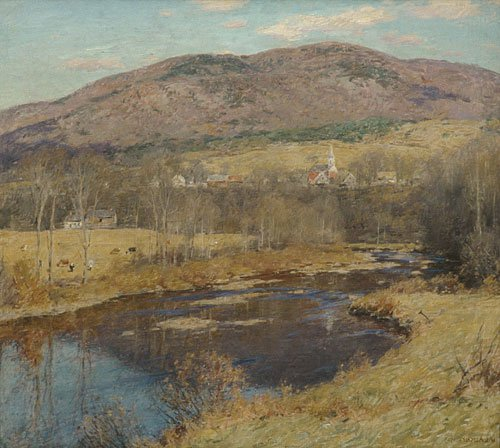 The North Country 1923 | Willard Metcalf | Oil Painting