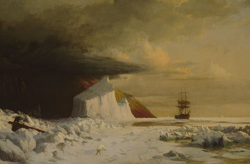 An Arctic Summer Boring Through the Pack in Melville Bay 1871 | William Bradford | Oil Painting