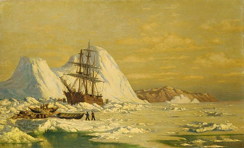 An Incident of Whaling | William Bradford | Oil Painting
