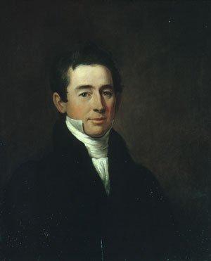 John Adams Conant 1829   William Dunlap   Oil Painting