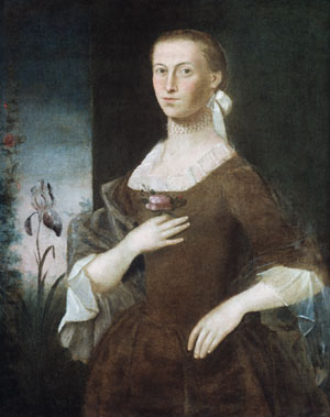 Mrs Samuel Gardiner 1763 | William Johnston (1732 1772) | Oil Painting
