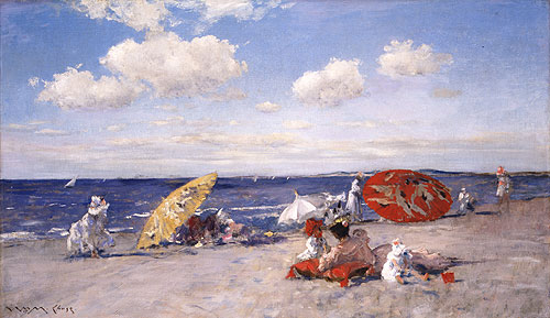 At the Seaside 1892 | William Merritt Chase | Oil Painting