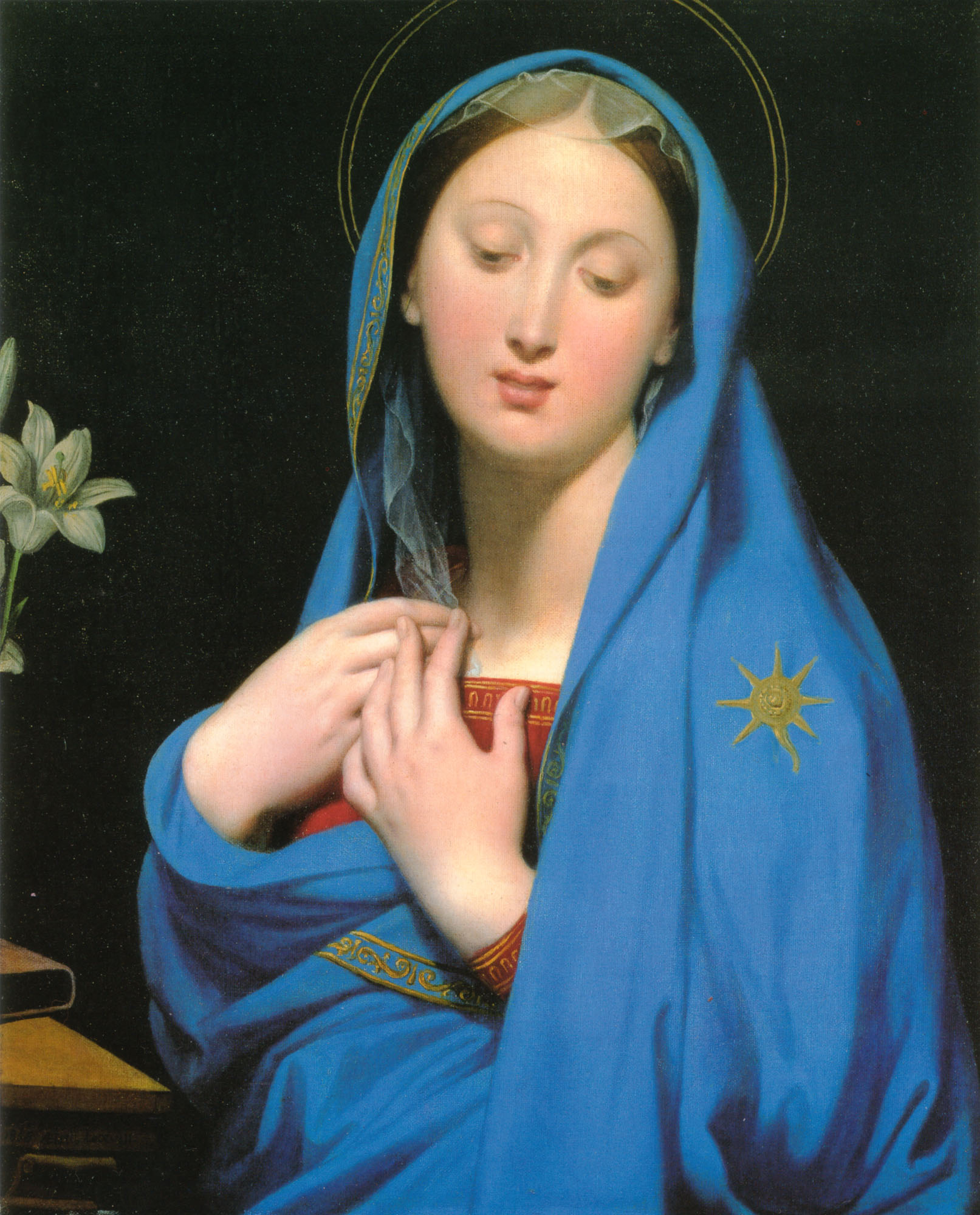 Virgin of the Adoption | Jean Auguste Dominique Ingres | Oil Painting