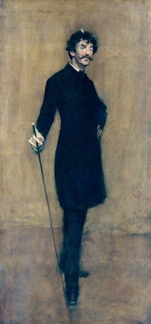 James Abbott McNeill Whistler 1885 | William Merritt Chase | Oil Painting