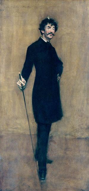 James Abbott McNeill Whistler 1885 | William Merritt Chase | Oil Painting