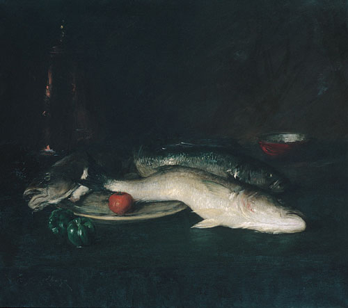 Still Life Fish 1908 | William Merritt Chase | Oil Painting