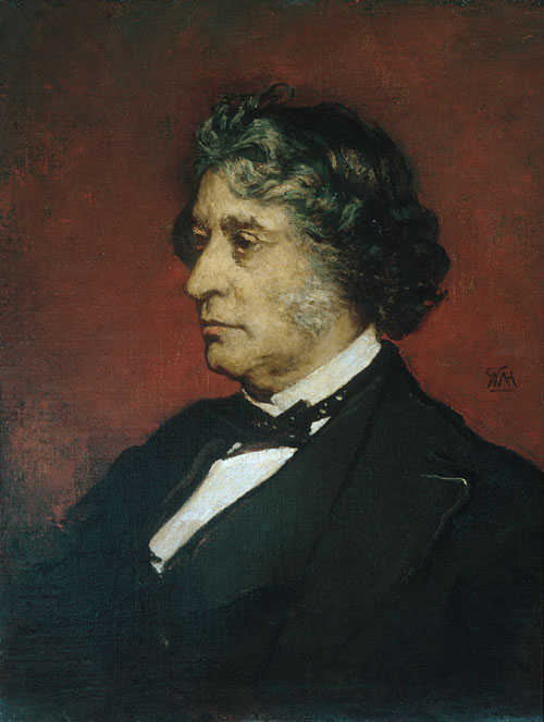 Charles Sumner 1875 | William Morris Hunt | Oil Painting