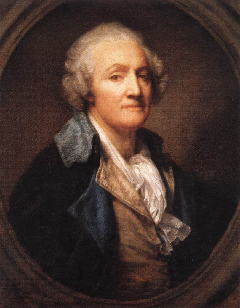 Self Portrait 1785 | Jean Baptiste Greuze | Oil Painting
