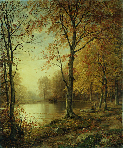 Indian Summer 1875 | William Trost Richards | Oil Painting