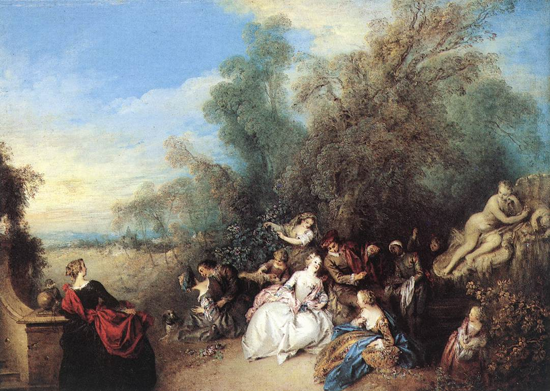 Relaxing In The Country | Jean Baptiste Joseph Pater | Oil Painting