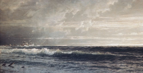 Near Land's End Cornwall 1879 | William Trost Richards | Oil Painting