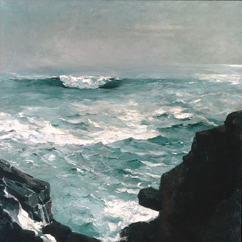 Cannon Rock 1895 | Winslow Homer | Oil Painting