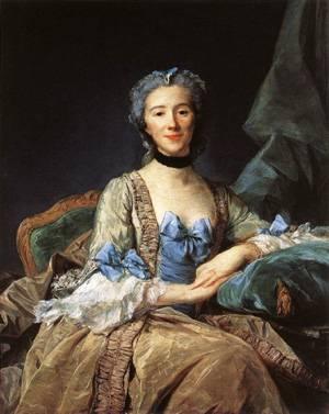 Madame De Sorquainville 1749 | Jean-Baptiste Perronneau | Oil Painting