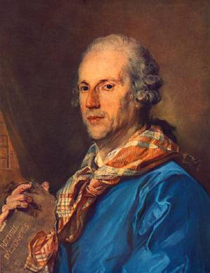 Portrait Of Charles Le Normant Du Coudray | Jean-Baptiste Perronneau | Oil Painting