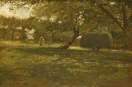 Harvest Scene 1873 | Winslow Homer | Oil Painting