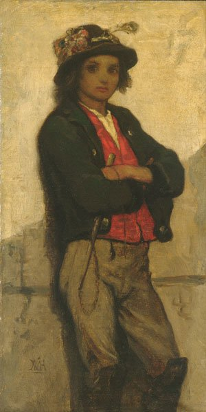 Italian Boy 1866 | William Morris Hunt | Oil Painting