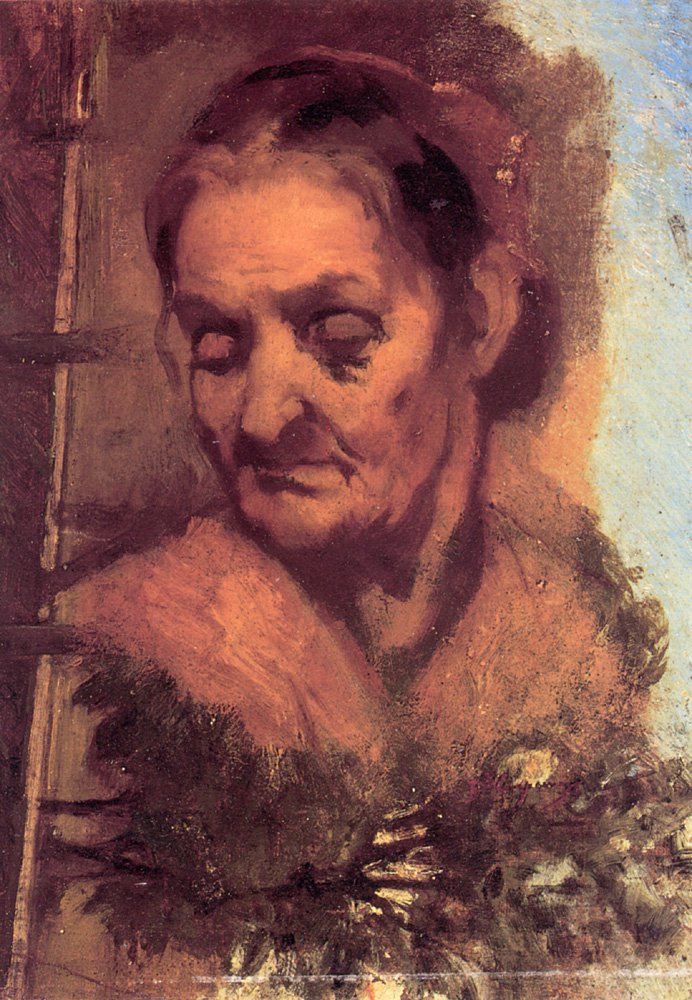 Portrait of an Old Woman | Jean-Baptiste Carpeaux | Oil Painting