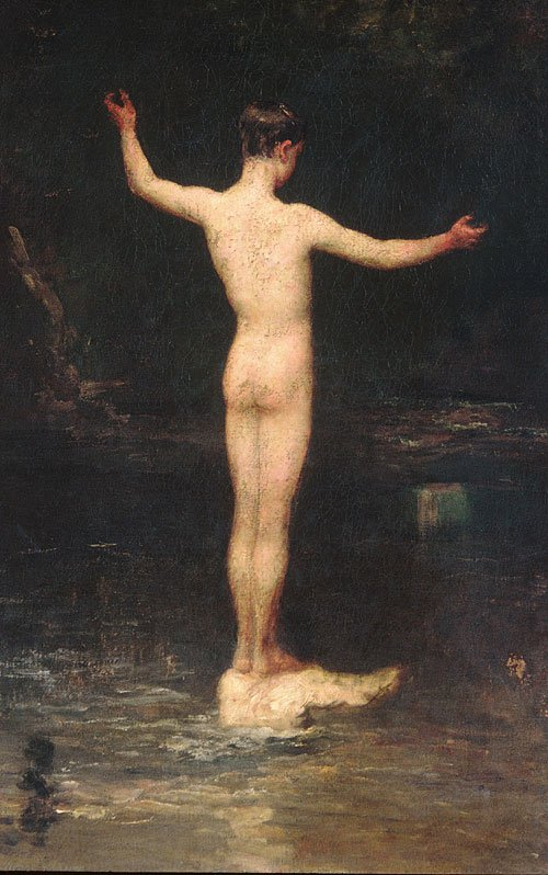 The Bathers 1877 | William Morris Hunt | Oil Painting