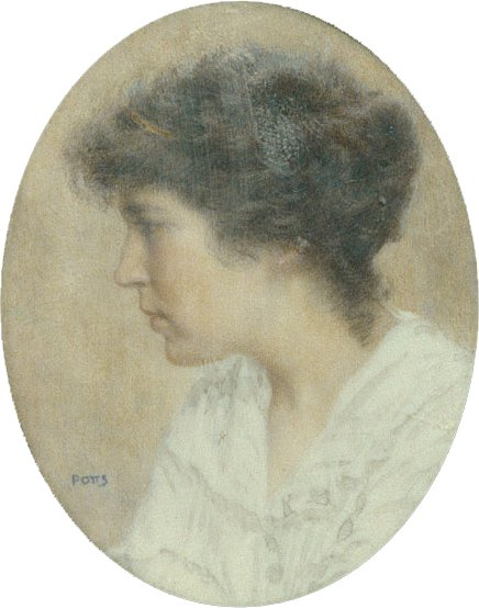 Katherine Forest 1915 | William Sherman Potts | Oil Painting