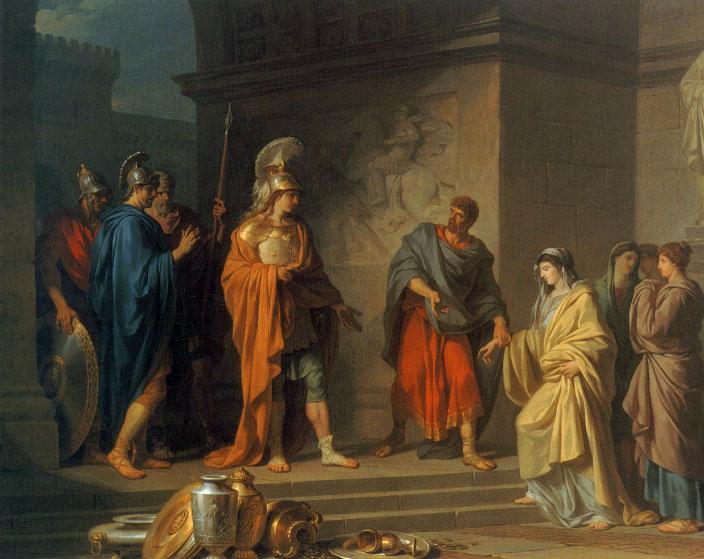 La Generosite de Scipio | Jean Charles Perrin | Oil Painting