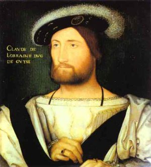 Portrait Of Claude Of Lorraine Duke Of Guise | Jean Clouet | Oil Painting