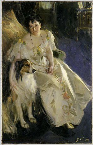 Mrs Walter Rathbone Bacon 1897 | Anders Leonard Zorn | Oil Painting