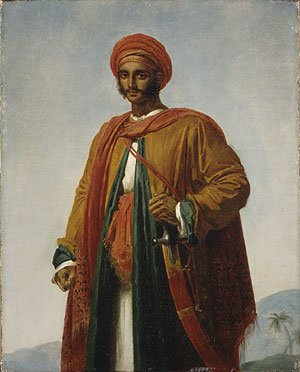 Study for Portrait of an Indian | Anne Louis Girodet Trioson | Oil Painting