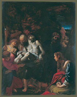The Burial of Christ 1595 | Annibale Carracci | Oil Painting
