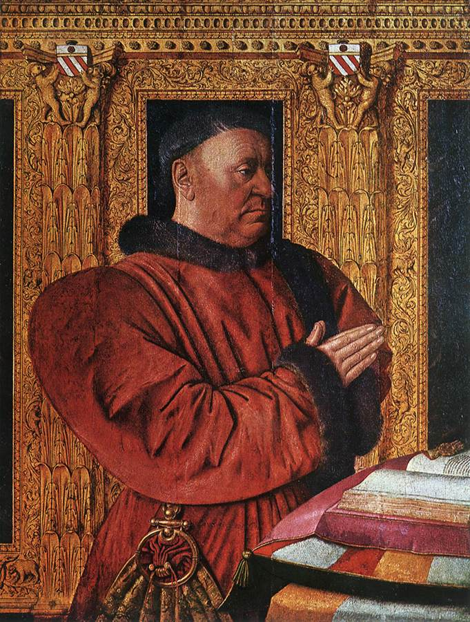 Portrait Of Guillaume Jouvenel Des Ursins 1455 | Jean Fouquet | Oil Painting