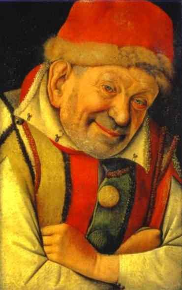 Portrait Of The Ferrara Court Jester Gonella 1442 | Jean Fouquet | Oil Painting
