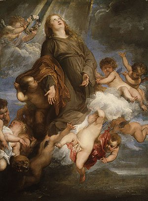 Saint Rosalie Interceding for the Plague stricken of Palermo 1624 | Anthony van Dyck | Oil Painting