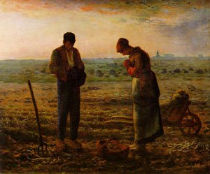 The Angelus 1857-59 | Jean-Francois Millet | Oil Painting