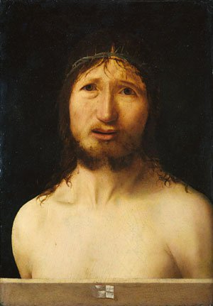 Christ Crowned with Thorns | Antonello da Messina | Oil Painting