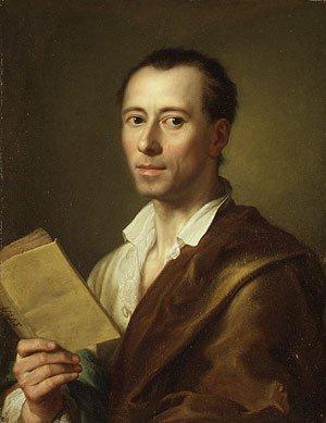 Johann Joachim Winckelmann shortly after 1755 | Anton Raphael Mengs | Oil Painting