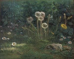 Dandelions | Jean-Francois Millet | Oil Painting