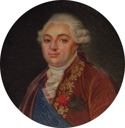 Louis XVI King of France 1787 | Antoine FranCis Callet | Oil Painting