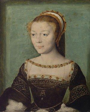 Anne de Pisseleu Duchesse d ampes | Corneille de Lyon | Oil Painting